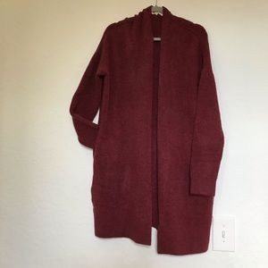 LOFT oversized soft cardigan